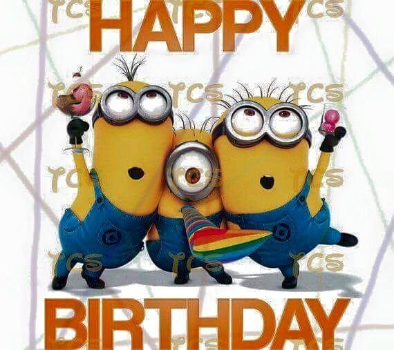 """Happy Birthday!"" - Minions"