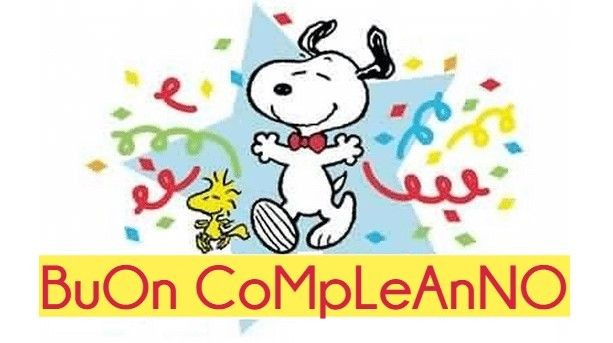 """Buon Compleanno"" - Snoopy"