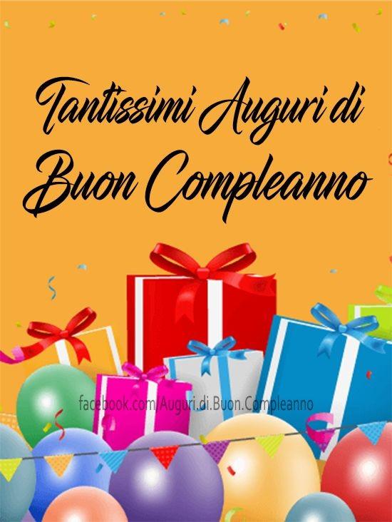"""""""Tantissimi auguri di Buon Compleanno"""""""