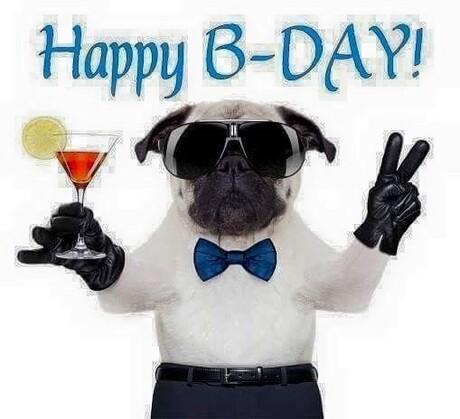 """Buon Compleanno divertente - """"Happy B-Day!"""""""