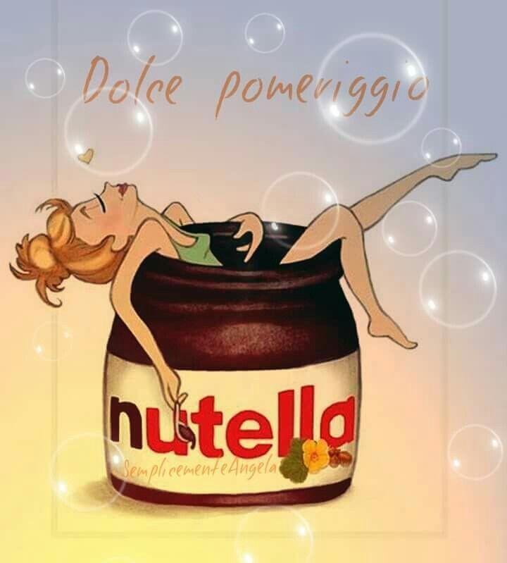 """""""Dolce Pomeriggio"""" - Nutella"""