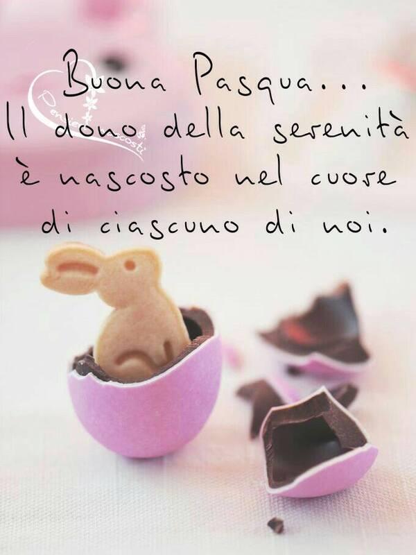 """""""Buona Pasqua... Il dono della serenità è nascosto nel cuore di ciascuno di noi."""""""