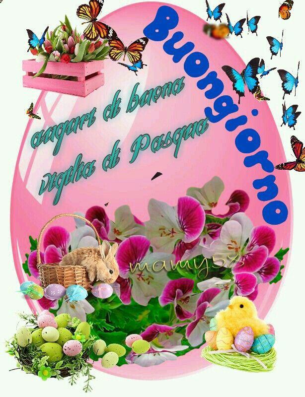 """""""Auguri di Buona Vigilia di Pasqua, Buongiorno"""""""