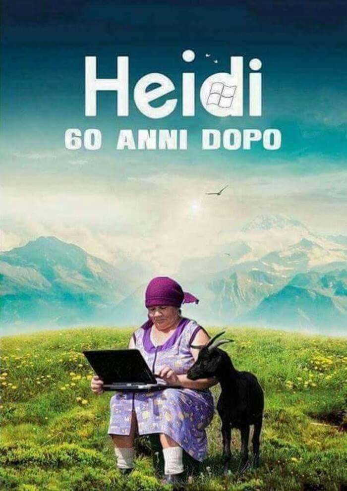 """""""Heidi 60 anni dopo"""" - link da ridere"""