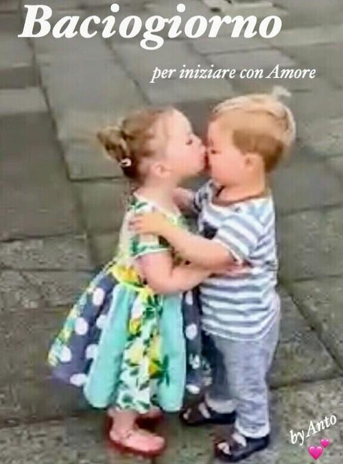 Link di Buona Giornata con un bacio