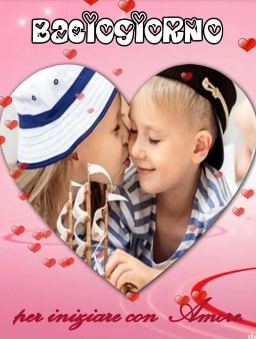 """""""Bacio Giorno"""" - Per iniziare con amore"""