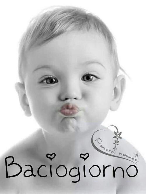 """""""Baciogiorno"""" - immagini con i bambini"""
