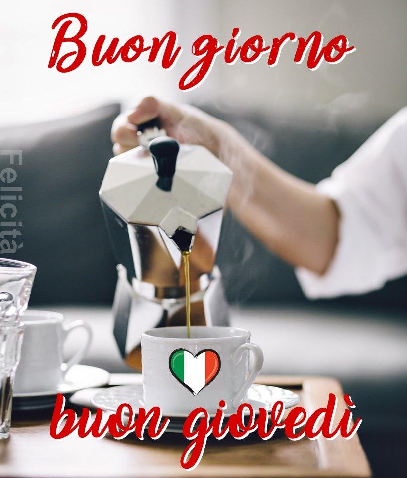 """""""Buon Giorno Buon Giovedì Italia"""""""