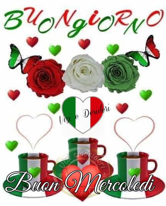 Buona Giornata e Buon Mercoledì Italia