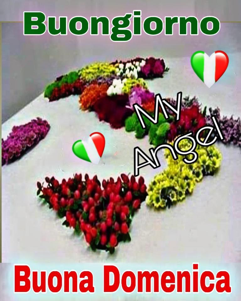 Buongiorno e Buona Domenica Italia