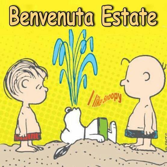 """Vignette con Snoopy - """"Buongiorno 21 Giugno"""""""