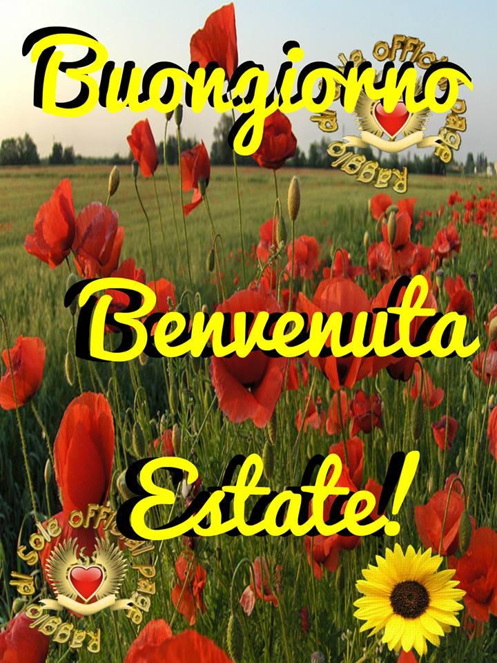 """""""Buongiorno Estate"""" - immagini da condividere gratis"""