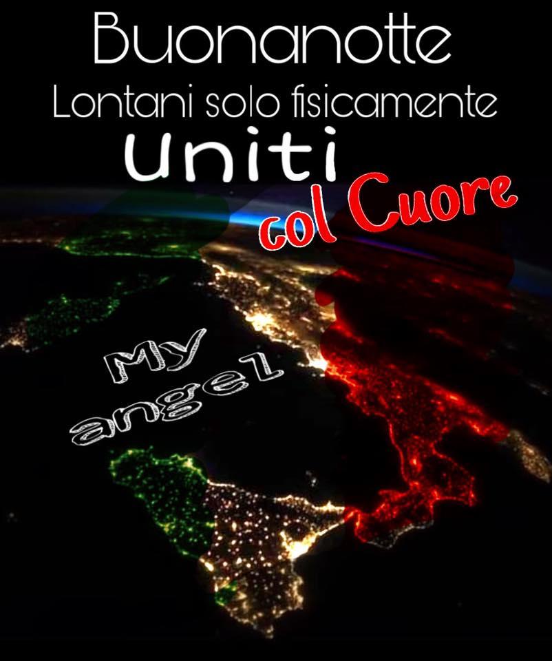 """""""Buonanotte Italia. Lontani solo fisicamente, uniti col Cuore"""""""