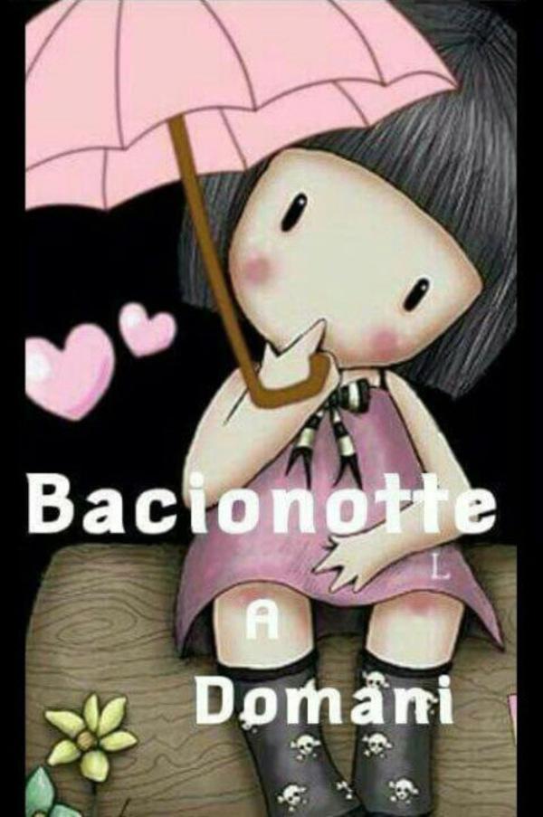 """Bacionotte, a Domani, piove"""