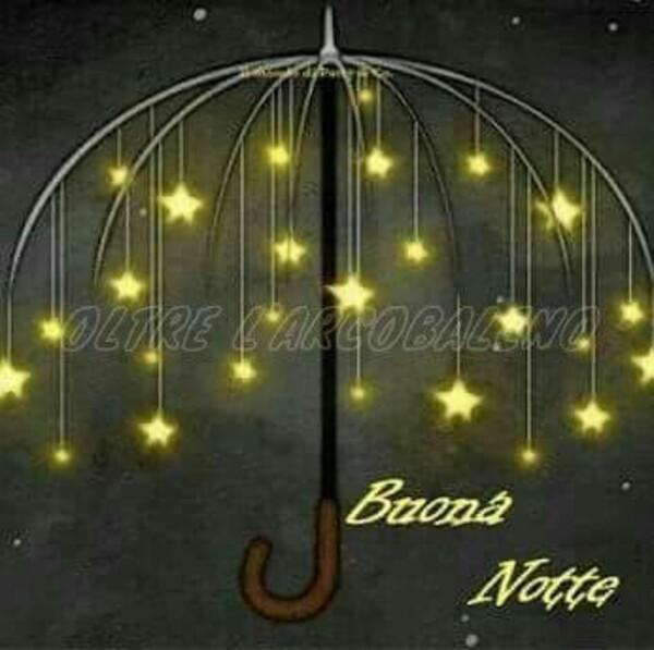 Immagini Buona Notte con l'ombrello