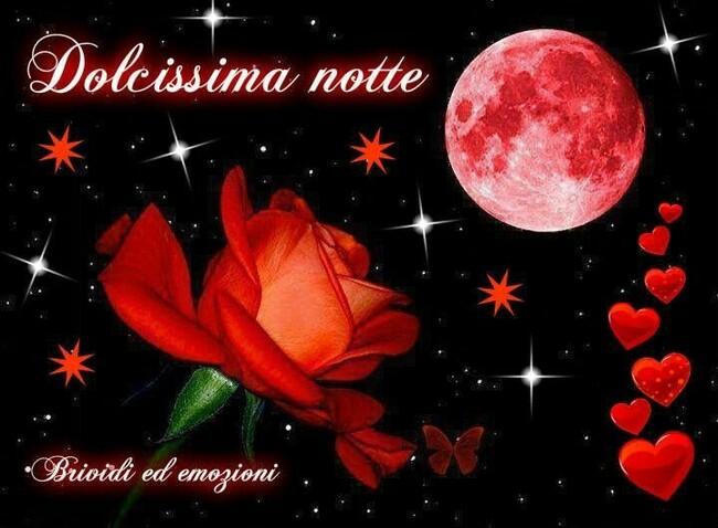 """""""Dolcissima Notte"""" - immagini da condividere su Facebook"""