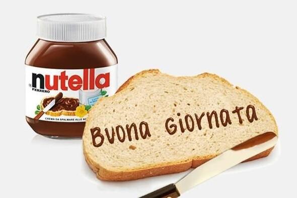 """""""Buona Giornata Nutella"""""""