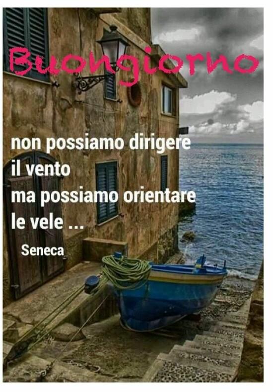 """""""Non possiamo dirigere il vento, ma possiamo orientare le vele... Seneca - Buona Giornata"""