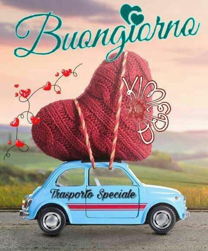 """""""Buongiorno, trasporto Speciale"""""""