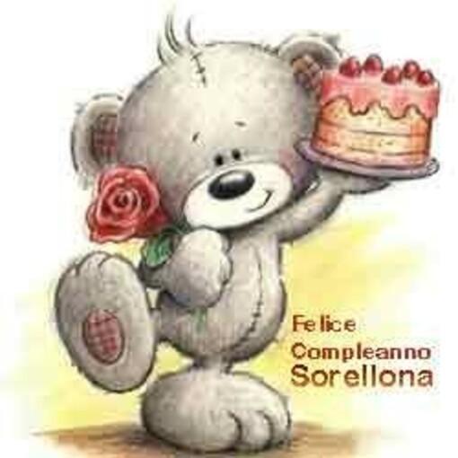 """""""Buon Compleanno Sorellona"""""""