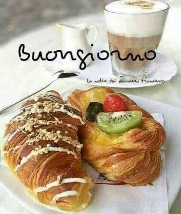 """""""Buona Giornata con cornetto e cappuccino"""""""