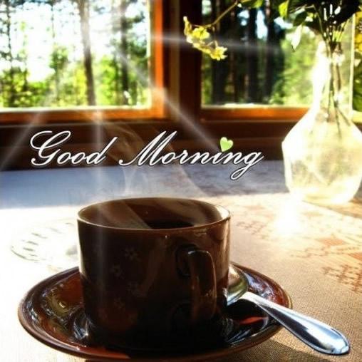Buongiorno con il caffè - immagini per Whatsapp