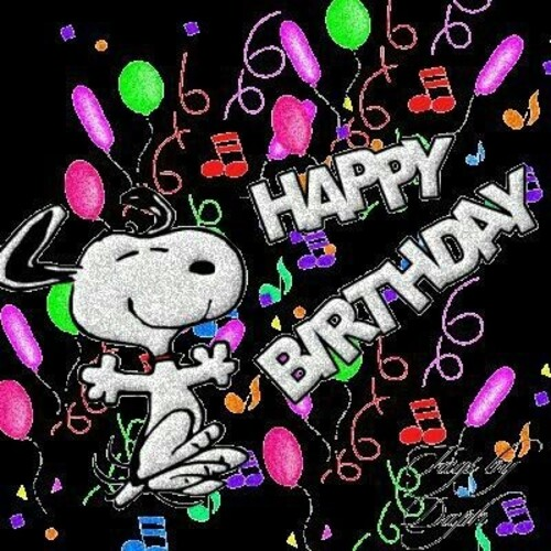 """Happy Birthday"" - Snoopy"