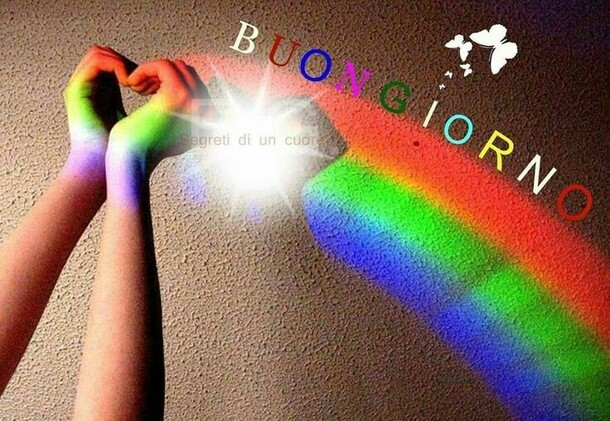 Buongiorno arcobaleno