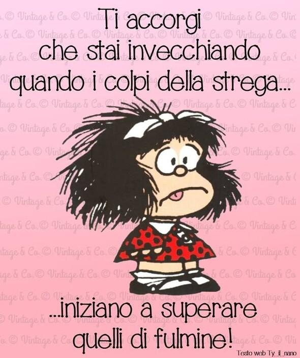 Mafalda e la vecchiaia