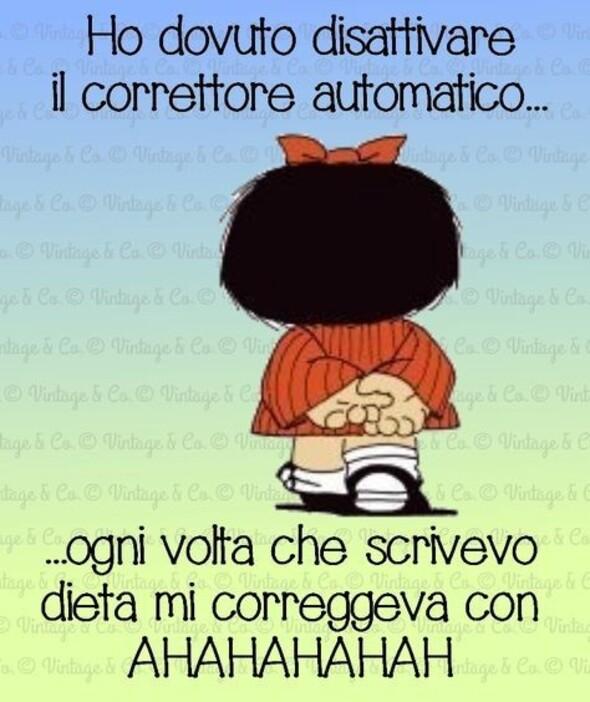 Mafalda e la dieta