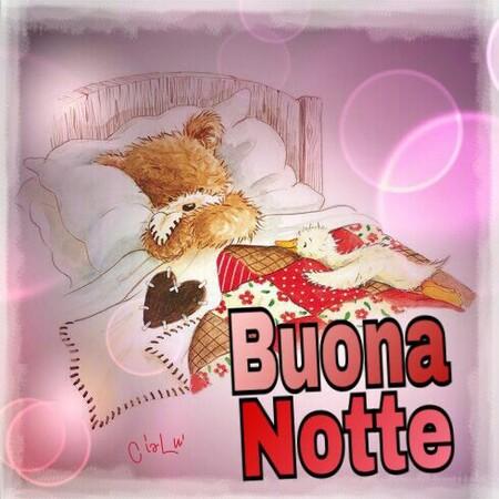 """""""Buona Notte con gli orsacchiotti"""""""