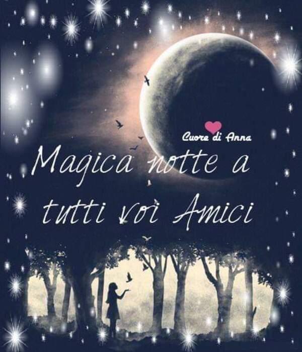 """Magica Notte a tutti voi amici"""
