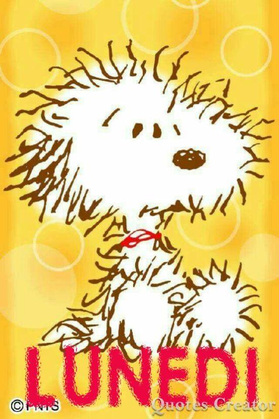 Buon Lunedì Snoopy