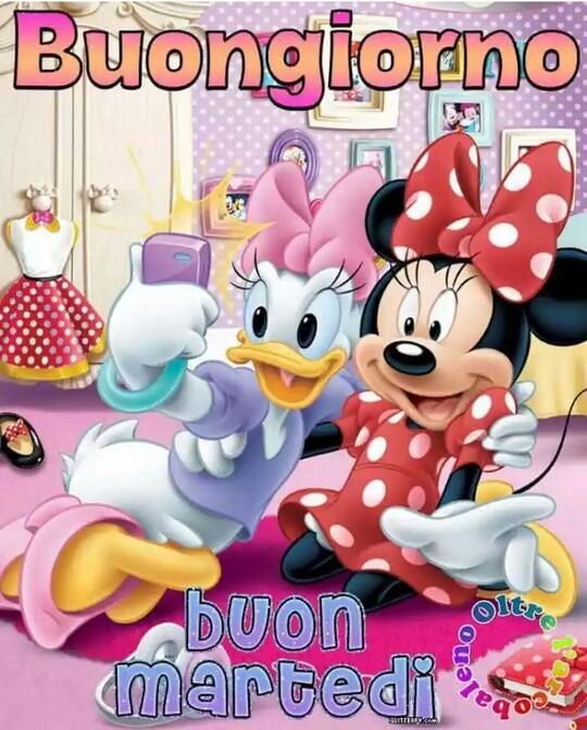 Buon Martedì Disney