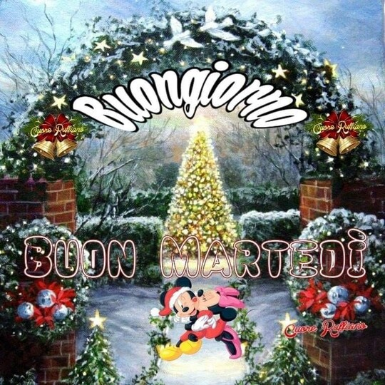"""""""Buondì e Sereno Martedì"""" - immagini natalizie"""