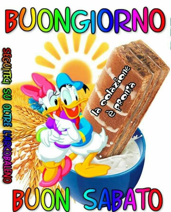 Buongiorno e Buon Sabato Disney
