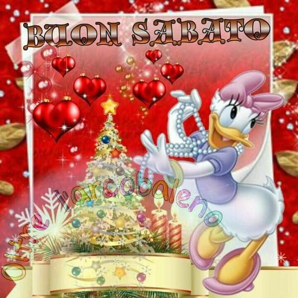 """""""Buon Sabato"""" - Buongiorno natalizio da Paperina"""