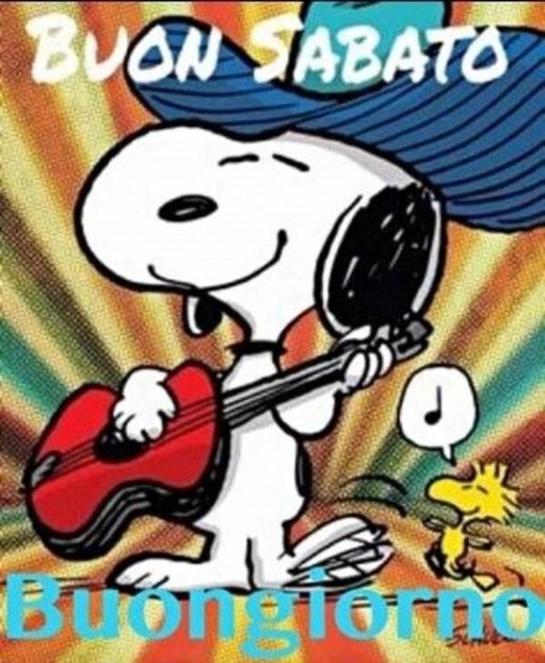 Buon Sabato Snoopy