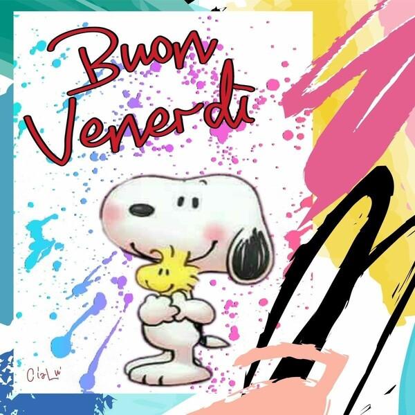 """""""Buon venerdì"""" - da Snoopy e Woodstock"""