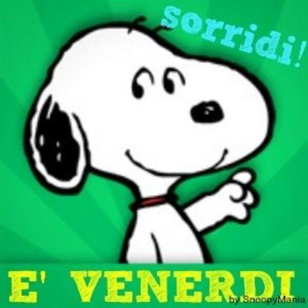 """""""Sorridi! E' Venerdì"""" - immagini da condividere gratis"""