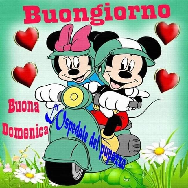 """""""Buongiorno Buona Domenica"""" - immagini Walt Disney"""