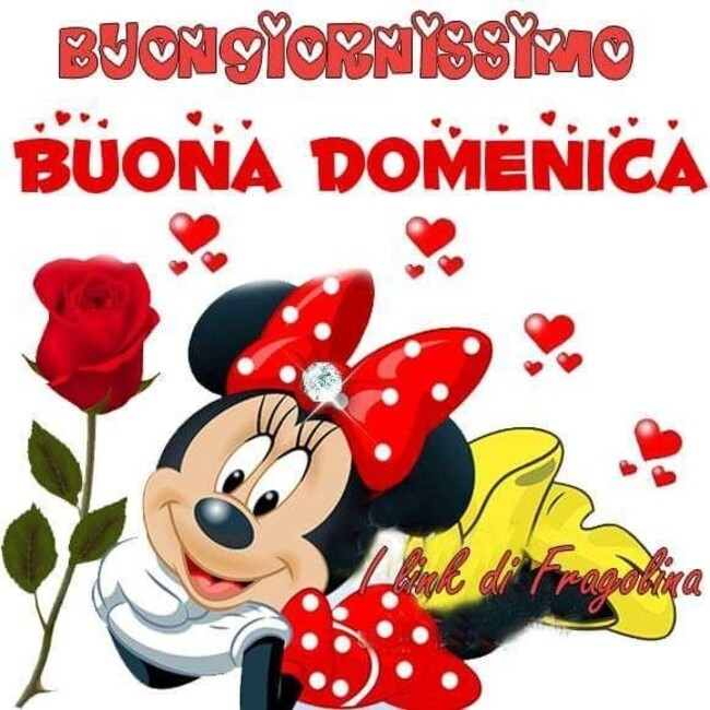 """Buongiornissimo Buona Domenica"" - Walt Disney"