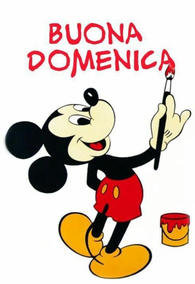 """""""BUONA DOMENICA"""" - da Topolino"""