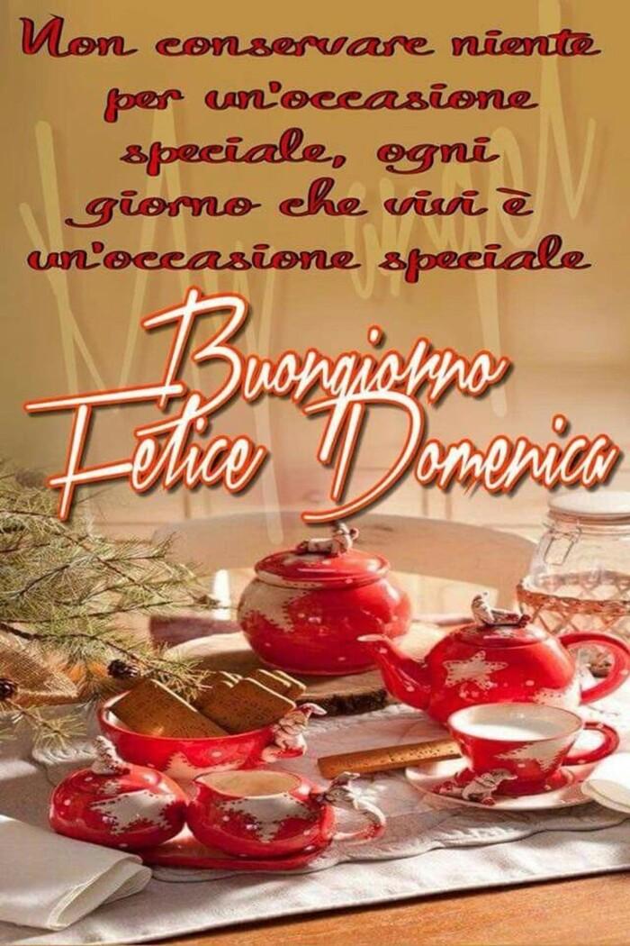 """"""".....Buongiorno e Felice Domenica"""" - Frasi bellissime da mandare su Facebook"""