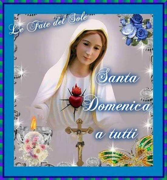"""""""Santa Domenica a Tutti"""" - con la Madonna"""