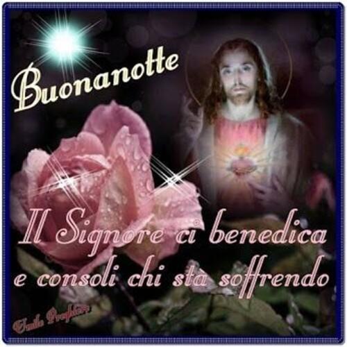 """""""Buonanotte. Il Signore ci benedica e consoli chi sta soffrendo"""""""