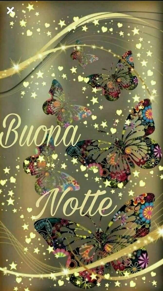Buona Notte con le farfalle