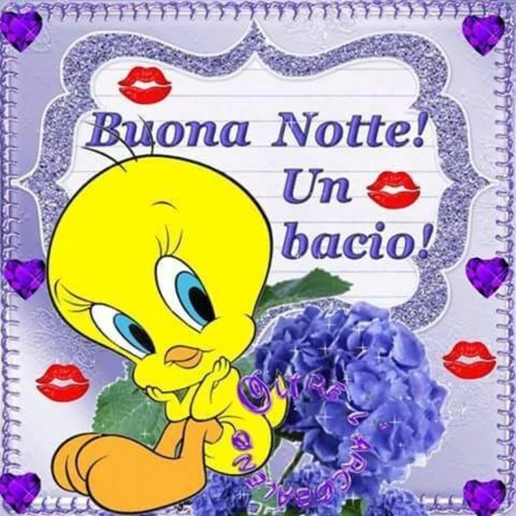 """""""Buona Notte! Kiss!"""" - da Titti"""