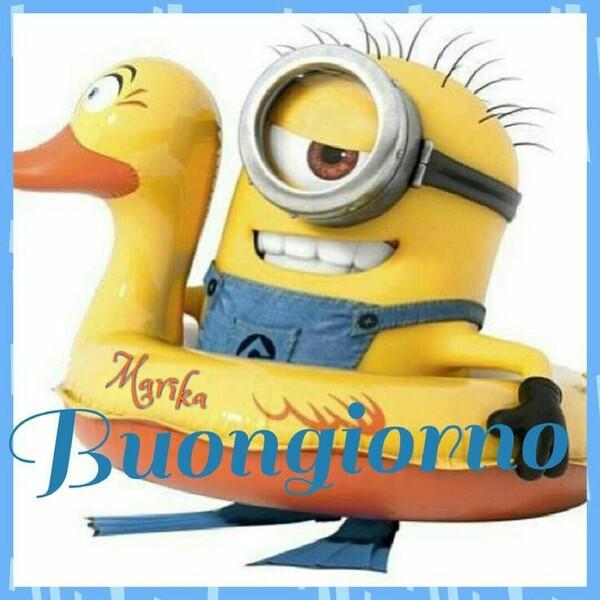 """""""Buongiorno estivo"""" - Minions"""