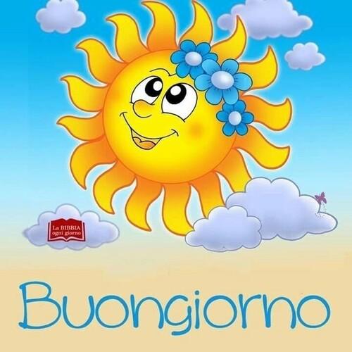 Immagini del Buongiorno con il sole cocente